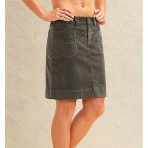 Athleta Washed Velvet Skirt